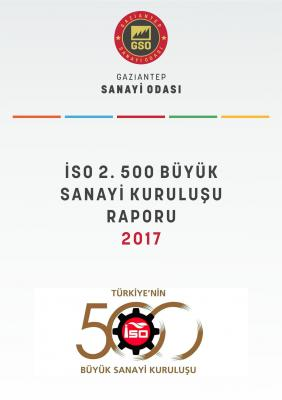İSO İkinci 500 Büyük Sanayi Kuruluşu Raporu