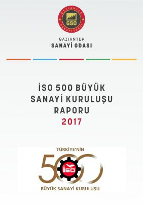İSO Birinci 500 Büyük Sanayi Kuruluşu Raporu