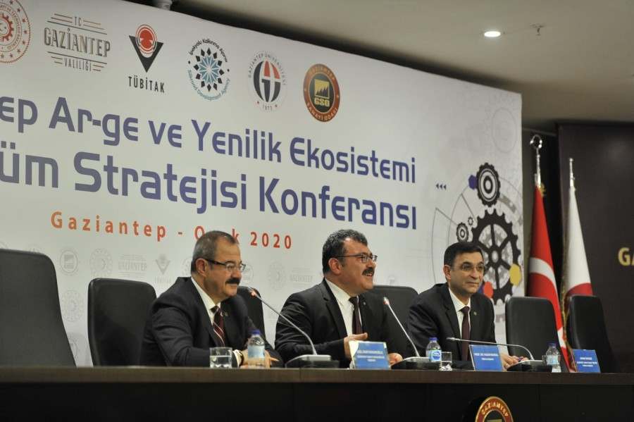 """ADNAN ÜNVERDİ:""""TÜBİTAK'IN GAZİANTEP'E ŞUBE KURMASINI İSTİYORUZ"""""""