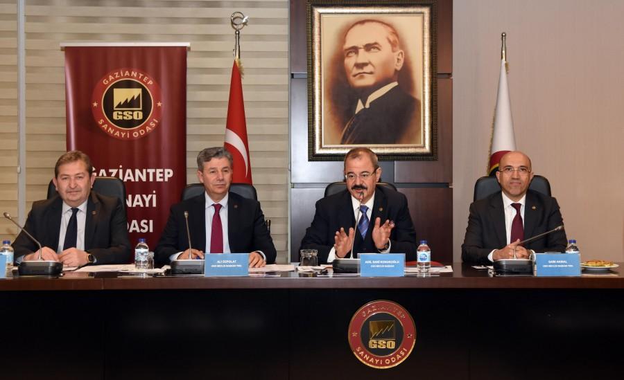 GSO'NUN ŞUBAT AYI MECLİS TOPLANTISI YAPILDI