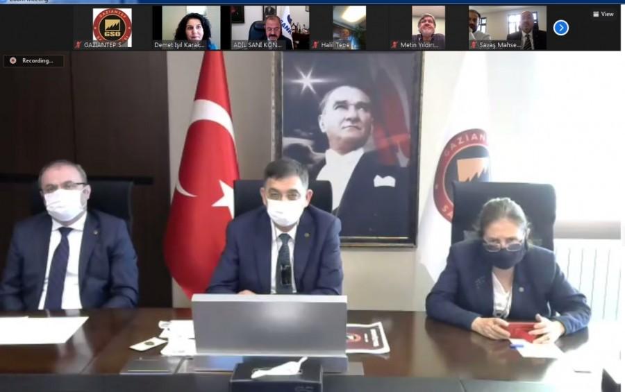 GSO MAYIS AYI MECLİS TOPLANTISI GERÇEKLEŞTİRİLDİ