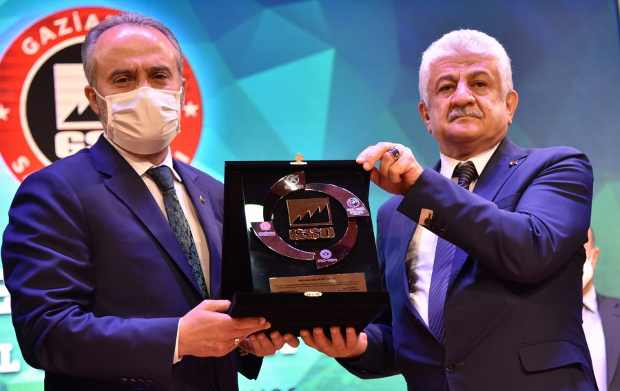 """""""GAZİANTEP'İN YILDIZLARI"""" ÖDÜL TÖRENİ GERÇEKLEŞTİRİLDİ"""